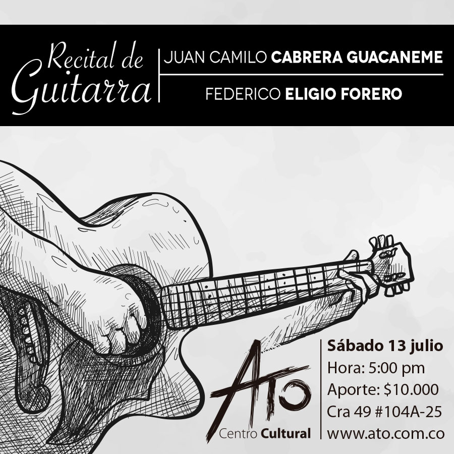 recital guitarra atoclub julio2019