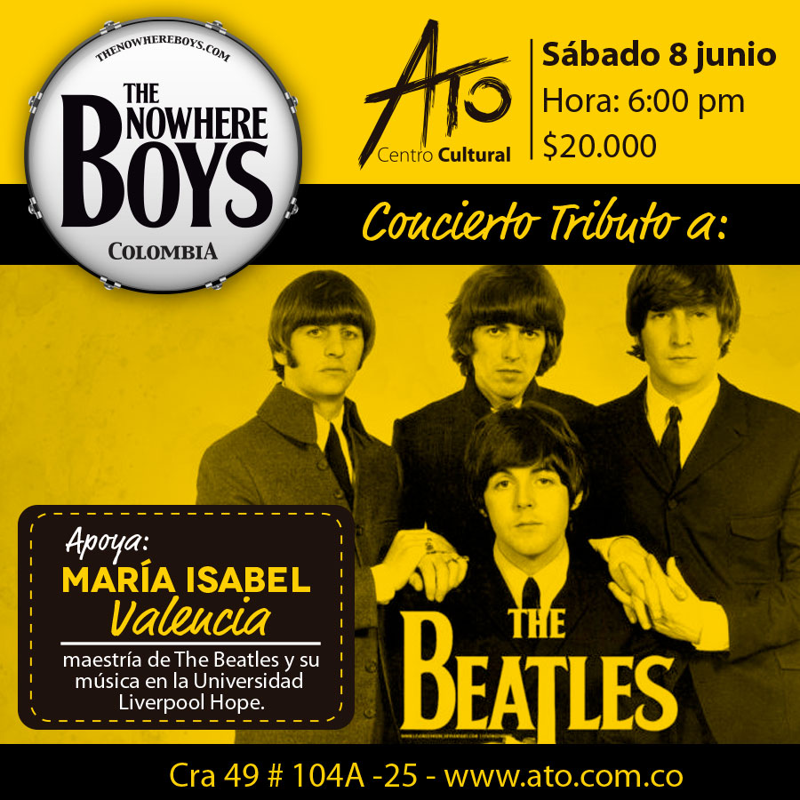 the beatles colombia ato club bogota 2019