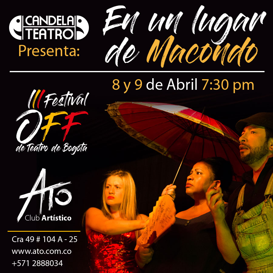 festival off teatro un lugar macondo ato club abril 2020